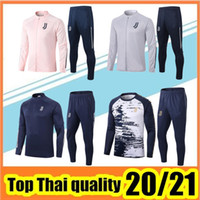 Wholesale xl football jerseys resale online - 2020 adult soccer jersey jacket tracksuit Survetement football jacket sportswear Men Polo shirt