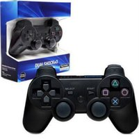 Wholesale video game sales resale online - Hot Sale Game Controllers Wireless Controller Double Shock For PS3 Portable Video Game Palyer Game Console With Box