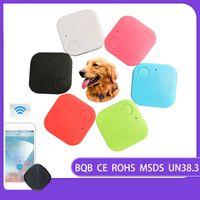 Wholesale Smart Mini GPS Tracker Bluetooth GPS Tracer For Pets Dog Cat Keys Wallet Bag Kids Trackers Finder Equipment