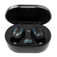 Wholesale New Arrival E7S TWS Wireless Bluetooth V5 Earphones Sports Music Earbuds with Digital Display for All Smartphones