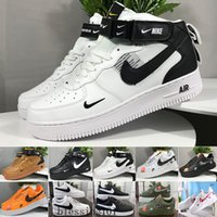 Wholesale Men Running Froced Shoes Low men Sneakers Forces One Mens Trainers Sports Skateboard One Sports White Air Sneakers NC5 CE2C