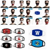 Wholesale masks movies resale online - Fashion Face Mask Dustproof Antifog Mouth Masks Movie D Printing Ice Silk Washable Reusable Anti Dust Designer Face Masks styles RRA3461