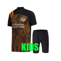Wholesale boy soccer suit for sale - Group buy adult kids Kit Houston Soccer Jerseys Dynamo ELIS RAMIREZ MANOTAS MLS football men suit football shirt boys uniforms