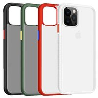 Wholesale joyroom iphone online – Cgjxs Joyroom For Iphone Case Cow Shield Series Protective Cover Matte Clear Pc With Tpu Bumper Phone Case For Iphone Pro Max