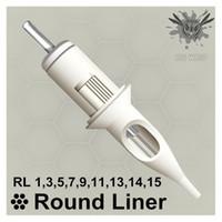 BIGWASP Standard Tattoo Needle Cartridges - Round Liners 1 3 5 7 9 11 13 14 15RL CX200808