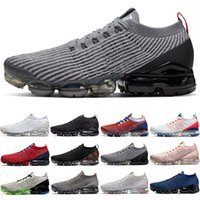 Wholesale crimson basketball for sale - Group buy 3 mens trainers men women Running Shoes Triple Black White USA Pure Platinum Particle Grey Noble Red Grey Crimson outdoor Sports Sneakers
