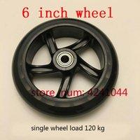 PP Universal Wheel Load Capacity of Single Wheel 120 kg Baby Strollers Silent Wheel 4Pcs 5 inch Swivel Wheel for Beauty appliances