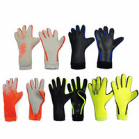 Wholesale football keepers gloves resale online - Hot Sales Top Quality Professional soccer gloves Luvas without fingersave football goalkeeper gloves Goal keeper Guantes