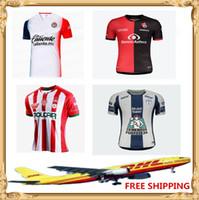 Wholesale chivas uniforms for sale - Group buy DHL Santos Laguna Necaxa Soccer Jerseys Football Shirts Chivas Camisetas de fútbol Uniforms
