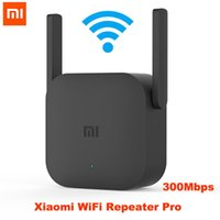 Wholesale cgjxs Xiaomi Mijia Wifi Repeater Pro m Mi Amplifier Network Expander Router Power Extender Roteador Antenna For Router Wi Fi