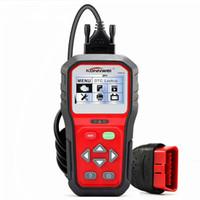 Wholesale obdii car scanner resale online - KONNWEI KW818 Enhanced OBDII ODB2 EOBD Car Diagnostic Scanner V Battery Tester Check Engine Engine Automotive Code Reader Tool