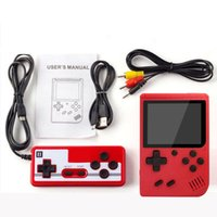 Wholesale portable video games for kids resale online - Retro Video Game Console Handheld Game Portable Pocket Game Console Mini Handheld Player for Kids Gift