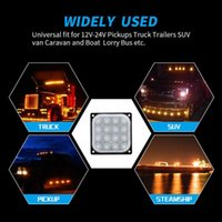 Wholesale 4x4 spotlights for sale - Group buy 4x4 SUV ATV Spotlight LED Side Light Bar LED Work Light Square W Off Road Bar Flood Flood Combination Beam Truck Tow
