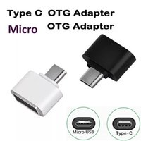 Wholesale androids tablets online – 2000pcs pin mini Micro USB OTG to Mini Adapter Compatible Type C Universal For Samsung Android Tablet