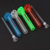 Wholesale pipe bongs resale online - TOPPUFF Top Puff Acrylic Bong Portable Screw On Water Pipe Glass Shisha Chicha Smoking Tobacco Herb Holder Instant Screw On Hookah