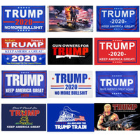Wholesale banner resale online - factory price styles x5 trump flag election trump flag banner x150CM