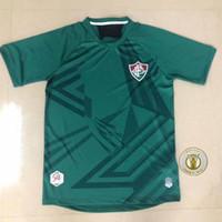Wholesale goalie jerseys for sale - Group buy 20 Fluminense PH GANSO soccer jersey Silveira Marcos Paulo Nascimento soccer Fluminense Adult men kids kit football shirt Goalie uniform
