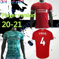Wholesale Player version home away rd Red black green soccer Jersey Football Shirt