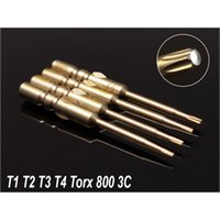 Wholesale precision torx driver set resale online - 4 Set Magnetic Precision TORX Screwdriver Drill Bits Dia mm Round Shank Electric Screw Driver S2 Hand Tool Kit For C