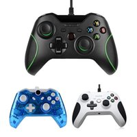 Wholesale video games pc resale online - Usb Wired Controller For Xbox One Slim Video Game Joystick Mando For Microsoft Xbox One S Gamepad Controle Joypad For Windows Pc T191227