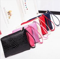 Wholesale phone clutch purse for sale - Group buy women Clutch bag ladies large capacity coin purse female mobile phone bag gift bag Hot lady purse
