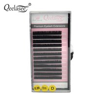 Wholesale artificial lash extensions resale online - 4cases Thickness JBCD curl mm Mixed MINK Individual Eyelash Extension Artificial Fake False Eye Lashes