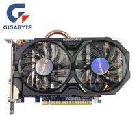 Wholesale nvidia graphics card for sale - Group buy GIGABYTE GTX Ti GB Video Card Bit GDDR5 Graphics Cards GV N75TOC GI for nVIDIA Geforce GTX750 Ti Hdmi Dvi