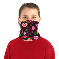 Wholesale cloth children boy resale online - magic headscarf dinosaur washcloth boy girl kid mask sport riding mask equipped with filter element PM2 meltblown cloth filters