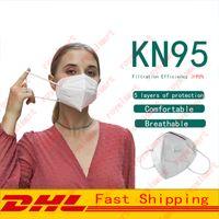Wholesale KN95 Face Mask Dust proof Splash proof Breathable Layer Protection Masks Fashion Reusable Civil Mouth Masks DHL