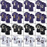 Wholesale red white color football jerseys for sale - Group buy Baltimore Ravens Men Lamar Jackson Justin Tucker Ray Lewis Joe Flacco Team Color Men Women Youth Stitched Limited Jersey