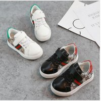 Wholesale baby boy shoes style resale online - Kids Designer Shoes Spring Summer Trend Fashion Children s Shoes Kids Casual Style Korean Stitching Pattern Shoes for Baby Boys