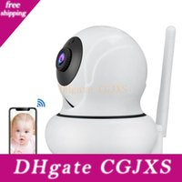 ip камеры wanscam оптовых-WANSCAM 1080P Wifi IP-камера Face Tracking Auto Ptz 4x Увеличить P2p Wireless Baby Monitor 2 -WAY Аудио камера безопасности Нажмите Alarm K21
