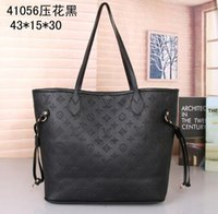 Wholesale mother tote bag resale online - New Two Piece Mother and Child Package Fashion Shoulder bag Messenger Bag clutch wallet crossbody bags totes hobos purse pu