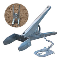 Wholesale mole traps resale online - Galvanised Powerful Scissor Type Eliminator Mole Trap Catching Outdoor Claw