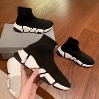 ingrosso vendita scarpe da donna-SPEED 2.0 Sock Shoe Men Speed Trainer Designers Sneakers Speed Trainer New Style Sock Race Shoes men and women Sock Trainers On Sale