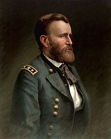 Wholesale oil painting s resale online - Oil painting America PRESIDENT Ulysses S Grant Wall Decor Oil Painting On Canvas Wall Art