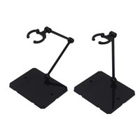 Wholesale 2pcs Action Figure Display Holder Base Doll Model Support Stand Compatible with HG RG SD SHF Gundam Toy