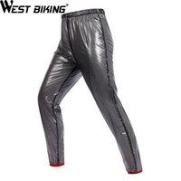 Wholesale rain pant men for sale - Group buy WEST BIKING Cycling Rain Pants Outdoor Sport Rain Pants Cycling Bike Bicycle Running Waterproof Bike Trousers