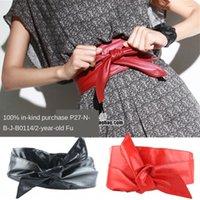Wholesale pink suspenders belts for sale - Group buy Korean style women s Suspender suspender sling sling skirt fashion casual wide belt bow strap skirt decorative wide belt ribbon