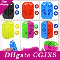 Wholesale silicone thumbstick grip cover caps resale online - Nintend Switch Soft Silicone Protective Skin Cover Case Thumbstick Grips Joystick Caps Cover For Nintend Switch Ns Joy Con