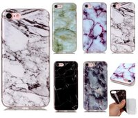 Wholesale iphone 5c skins online – custom Cgjxscgjxshigh Quality Marble Skin Back Cover Case Protector Tpu Silicone Case Shell For Iphone s c Iphone s Plus