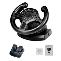 Wholesale steering games for sale - Group buy Cgjxsgamepad Vibrating Game Steering Wheel Game Racing Steering Wheel Compatible With Ps3 Pc D Input X Input Simulated T191227