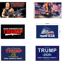 ingrosso forniture di stampa digitale-15 stile Decor Banner Trump bandiera appesa Trump Keep America Grandi striscioni 3x5ft Digital Print Supplies Donald Trump USA Flag partito DWE956