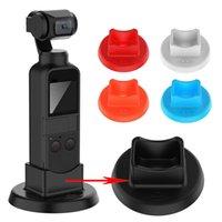 Wholesale osmo pocket resale online - Soft Silicone Support Base Holder Bracket Skid proof For DJI OSMO Pocket Handheld Gimbal Camera