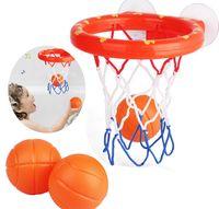 Wholesale toddlers games for sale - Group buy Baby Toddler Gift Set Bath Toys Basketball Balls Hoop Kit Kids Boys Girls Game Sport Tool Kit KKA8112