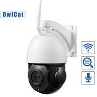 cámara ip hd domo ptz zoom al por mayor-Cámara OwlCat 30X de zoom HD de 2MP 5 megapíxeles al aire libre Domo PTZ Cámara IP WiFi dos vías de audio SD Card Auto Crucero de seguridad CCTV video