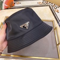 Wholesale girls braids resale online - luxury Summer SunBucket Hat Protection Fishing Brand high quality Pure color letters Bob Boonie Bucket Hats Summer caps p27