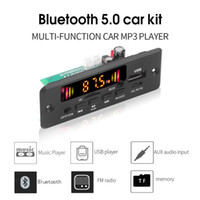 Wholesale KEBIDUBluetooth Car Radio MP3 Player Decoder Board DC V V Handsfree Support Recording FM TF SD Card AUX x W