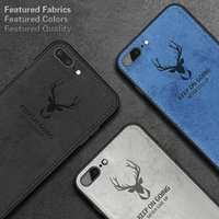 Wholesale batman phone covers online – custom Cgjxsluxury Batman Christmas Deer Cloth Phone Cases For Iphone s Plus Ultra Thin Soft Silicone Cover For Iphone X Xs Max Xr
