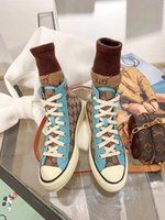 Wholesale discount mens leather casual shoes resale online - Women Casual Shoes Low Top Luxury Designer Leather Sneakers with Flower Trainers Discount Snake Tiger Mens Flats Shoes ACE Bee Embroider1739